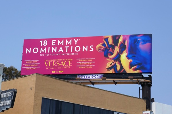 Assassination Gianni Versace 18 Emmy nominations billboard
