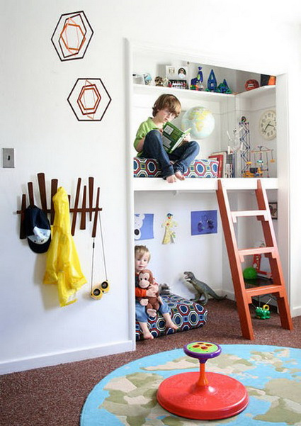 10 reading corners for children 3