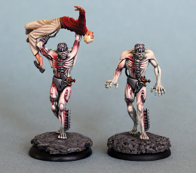 Both Malifaux Flesh Constructs