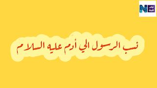 نسب محمد صلى الله عليه وسلم
