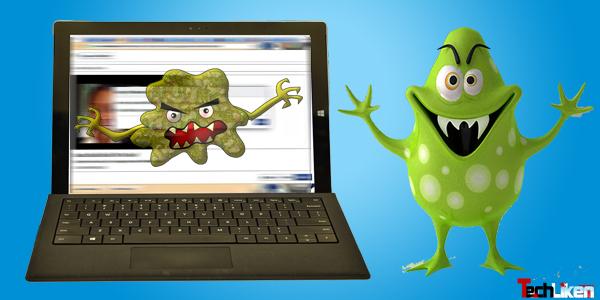 Online virus check