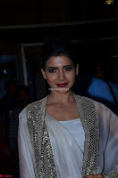 Samantha Ruth Prabhu cute in Lace Border Anarkali Dress with Koti at 64th Jio Filmfare Awards South ~  Exclusive 035.JPG
