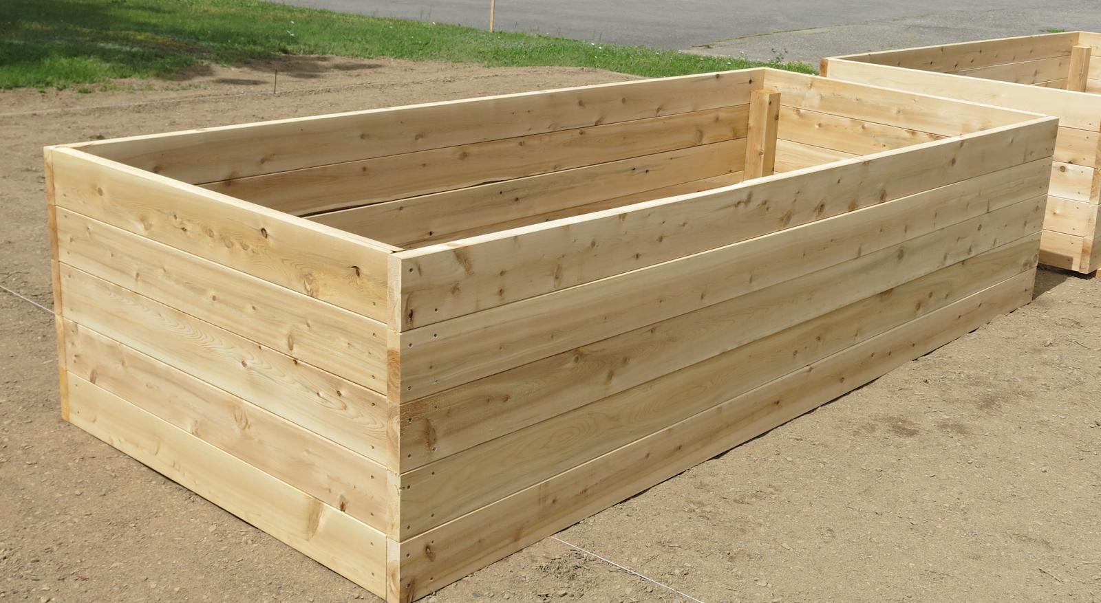 bac de jardin en bois bac en bois de jardin et pots les jardins de la vall e banc de jardin en. Black Bedroom Furniture Sets. Home Design Ideas