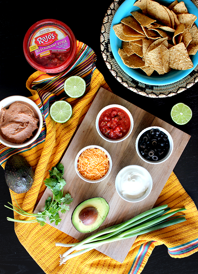 Individual Mexican Style Layer Dips