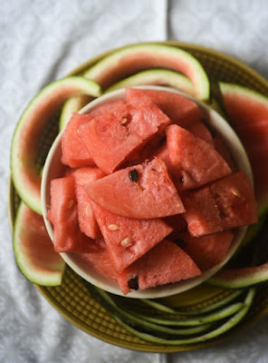 Watermelon pith
