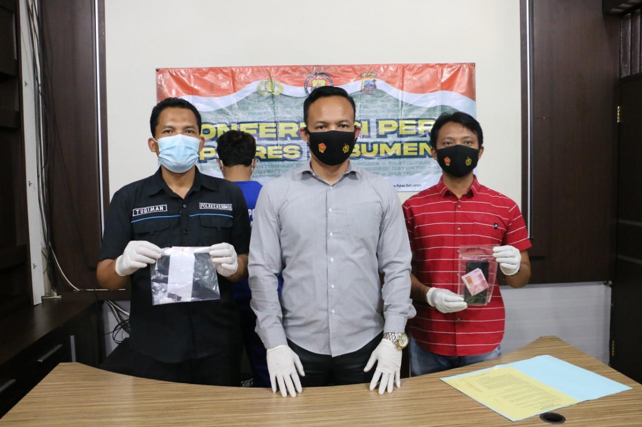 Disuruh Beli Sabu Temannya, Pemuda Asal Buluspesantren ini Ditangkap Polisi