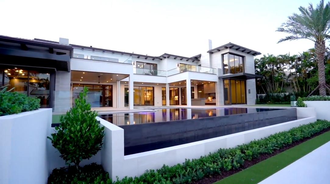 29 Interior Design Photos vs. 144 W Coconut Palm Rd, Boca Raton, FL Ultra Luxury Mansion Tour