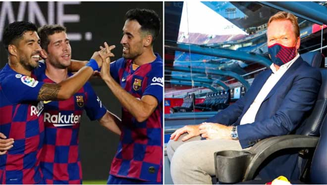 """Tân HLV Koeman thể hiện quyền uy: """"Dằn mặt"""" đội phó Barca, đối xử Messi ra sao?"""
