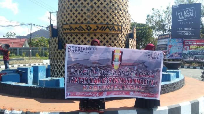 IMM Sinjai Galang Dana di Jalanan untuk Korban Gempa Ambon