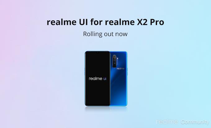 Realme UI For Realme X2 Pro