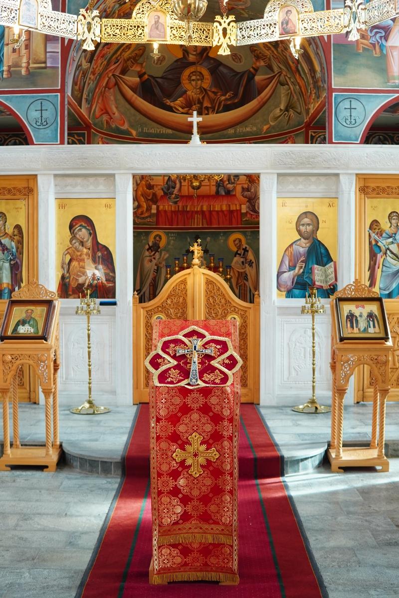 Joensuu ortodoksisen seminaarin kirkko