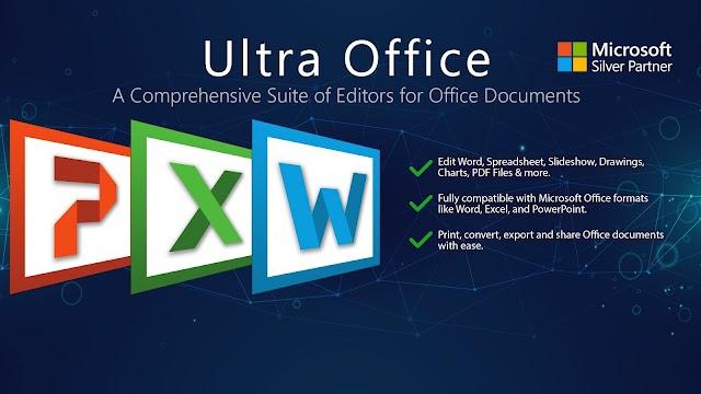Tải miễn phí Ultra Office: Word, Spreadsheet, Slide & PDF Compatible