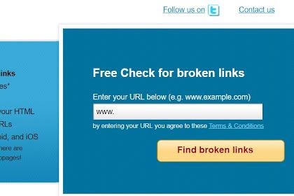 Mematikan Link Yang tidak Berfungsi Pada website Blog