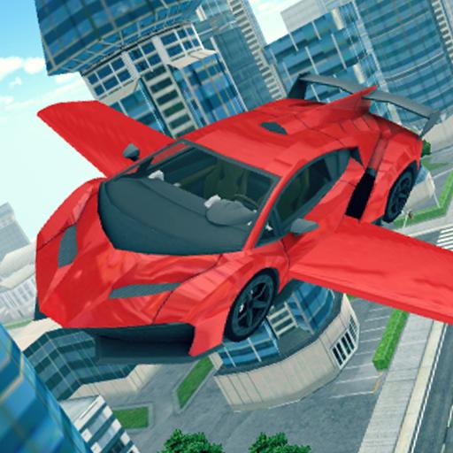 تحميل لعبه Flying Car 3D مهكره وجاهزه للأندرويد