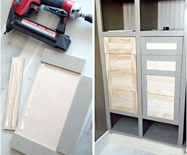 How to build and install drawers