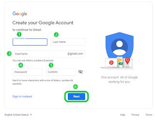 Create your Google Account