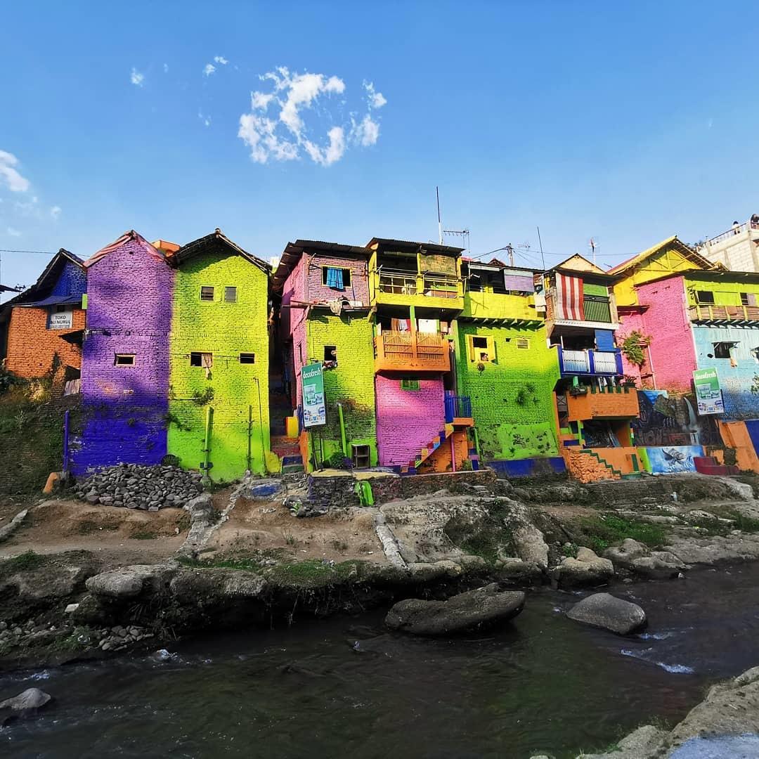Deskripsi Kampung Warna Warni Jodipan
