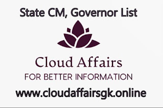 Cloud Affairs-All State Cm,Governors List