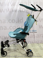 Tengah Kereta Bayi CocoLatte CL89 iFlex Lightweight - Blue