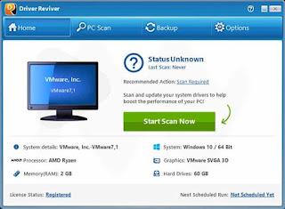 تحميل برنامج تحديث تعاريف الجهاز ReviverSoft Driver Reviver 5.28.0.4