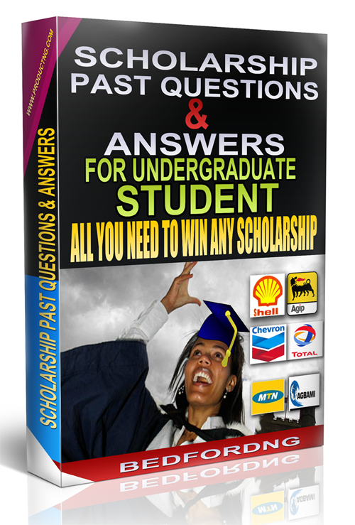 scholarship past questions and answers
