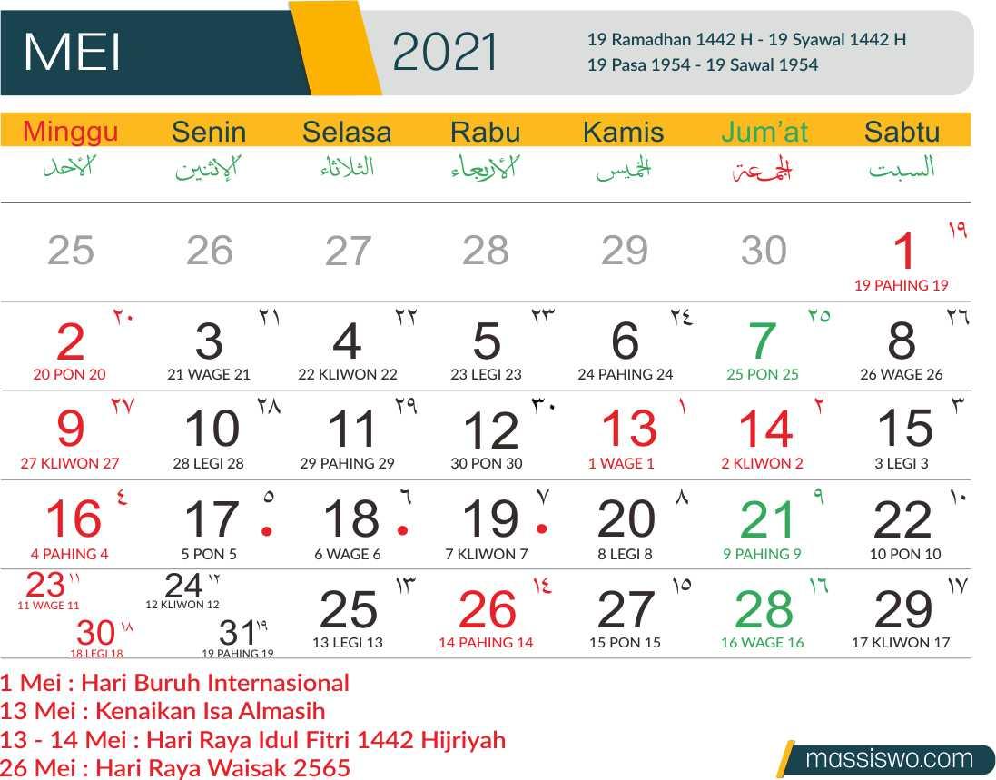 Template Kalender 2021 CDR, PNG, AI, PSD, PDF Gratis 100% ...