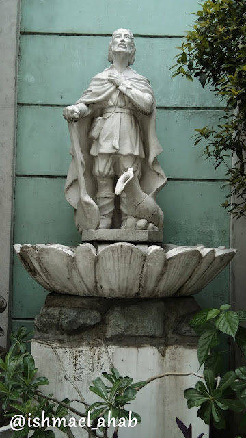 Statue of San Isidro Labrador in San Isidro Labrador Church in Pasay