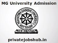 MG University Admission