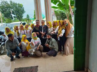 Sudah Penuhi Syarat Partai, Tim Supik Gendis Provinsi Jambi Kunjungi Posko Supik Gendis Kabupaten Batanghari