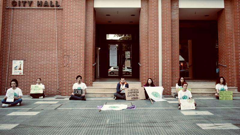 Fridays for Future: Διαμαρτυρία στην Αλεξανδρούπολη κατά του αντι-περιβαλλοντικού νόμου Χατζηδάκη