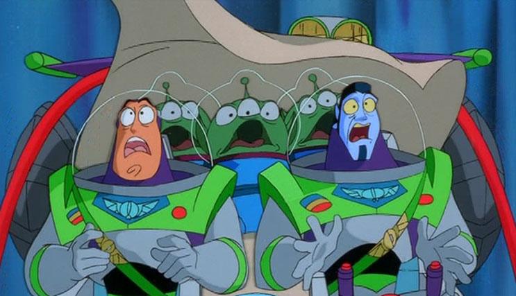 Buzz Lightyear da Comando Stellare - Si parte!