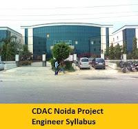 CDAC Noida Project Engineer Syllabus