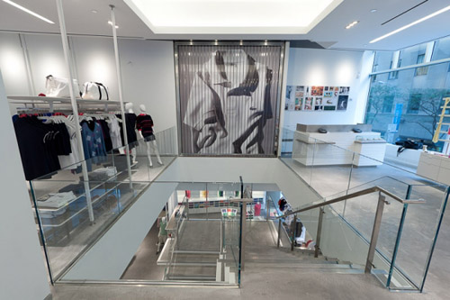 Lacoste Fashion Design Shop New York Inspiring Retail