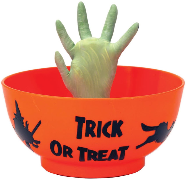 Motion-Activated Candy Bowl