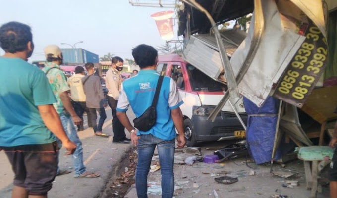 4 Kendaraan yang Terlibat Lakalantas Beruntun di Sentul Kragilan Sudah Diamankan Satlantas Polres Serang
