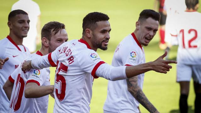 ملخص مباراة اشبيلية وريال سوسيداد (3-2) في الدوري الاسباني