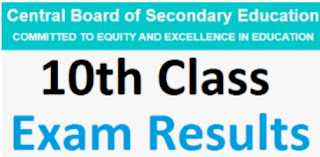 CBSE 10th Class results 2020