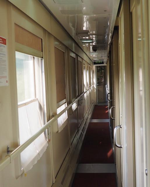 Купейный вагон российского поезда