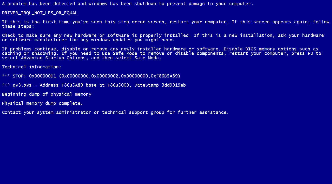 Cara mengatasi Laptop Blue Screen