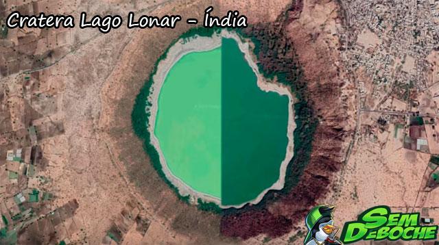 Cratera Lago Lonar - Índia