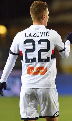 6dcfa35f3 Free Football Fonts  Genoa CFC 2018 2019 Lotto Jersey Font