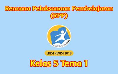 download rpp kelas 5 tema 1 k13 semester 1 tahun 2019 2020