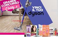 Logo Grande Concorso Caddy's: vinci 20 Dyson V11 Absolute ( 791,78€ ciascuno)! Anticipazione