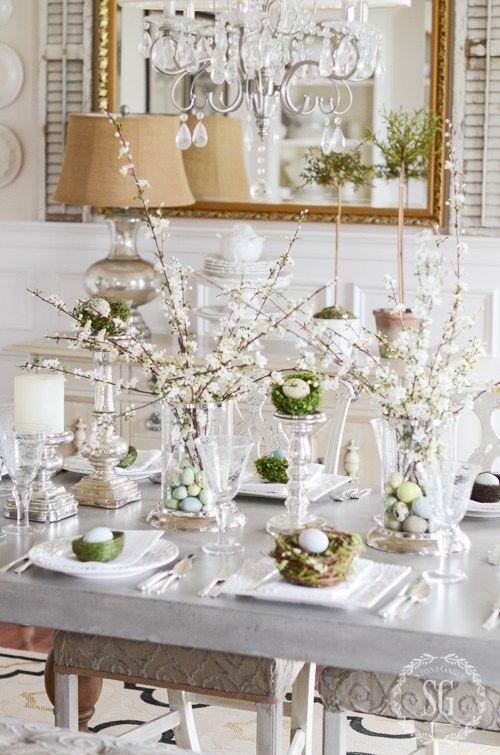 Świąteczne inspiracje na stół, dom i wnętrze * Happy Easter Lovllies