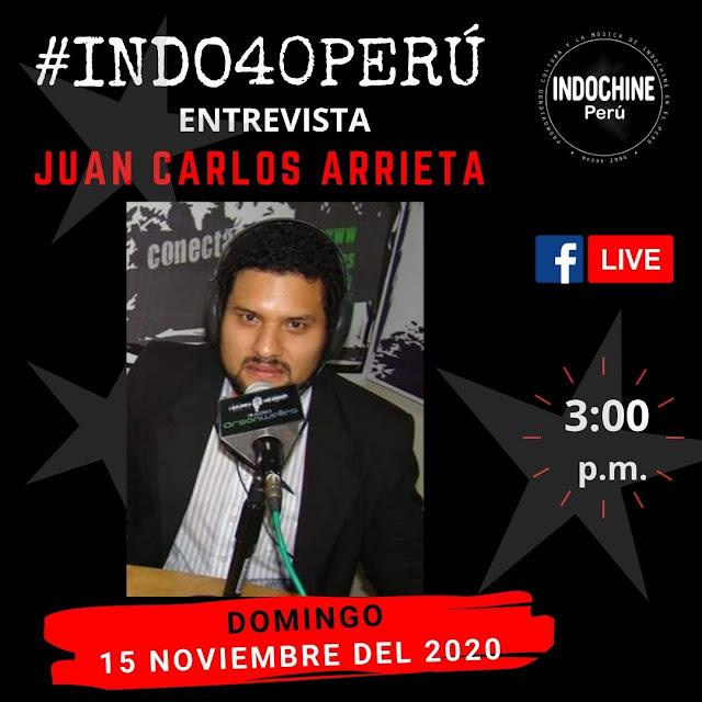 #INDO40PERU - Entrevista a Juan Carlos Arrieta