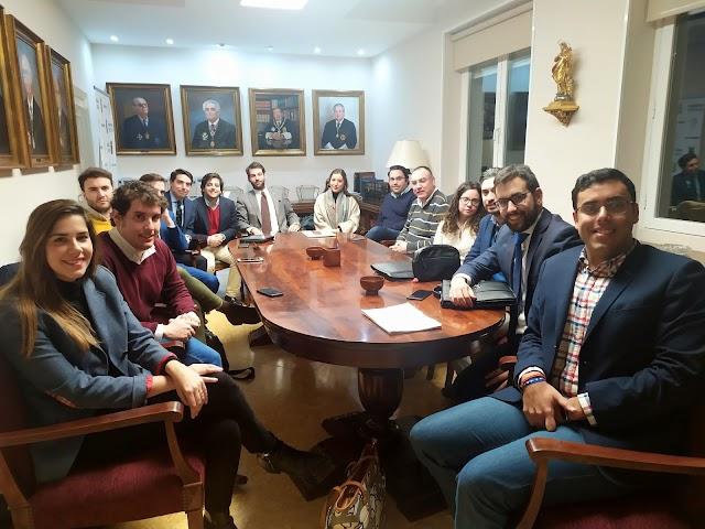 Reunión de la Comisión de Formación y de la Directiva con Delegados