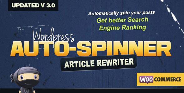 Wordpress Auto Spinner 3.7 0 - Articles Rewriter Free Download