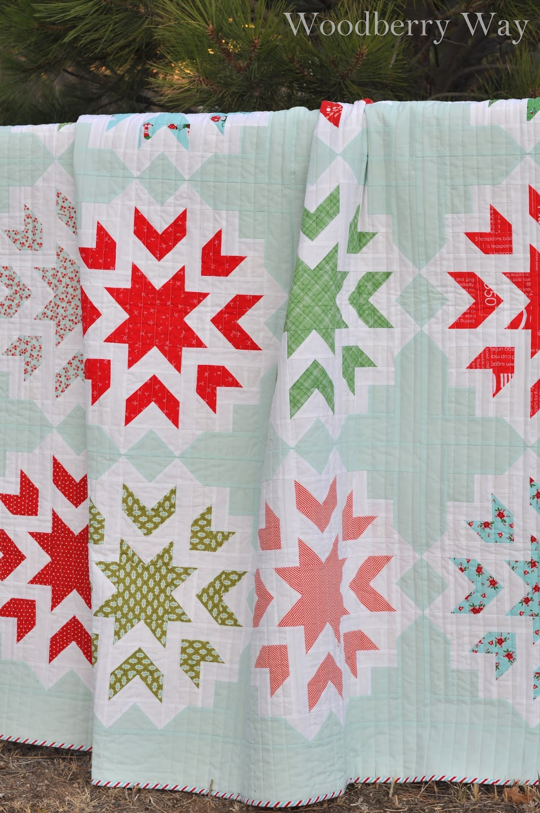 Woodberry Way First Snow Quilt