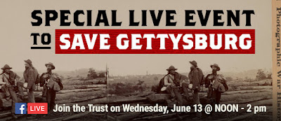 Gettysburg Fun(d)raiser: See the Land, Save the History on June 13th