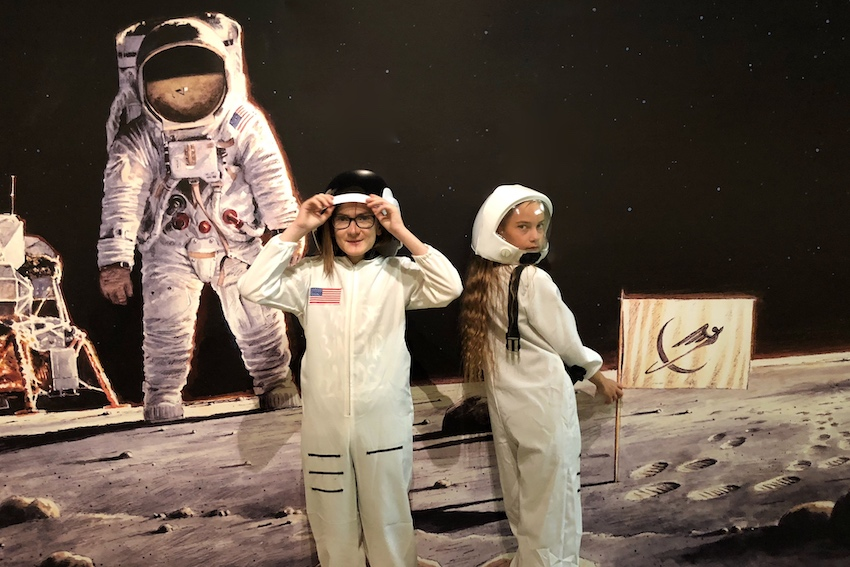 Wettlauf zum Mond Krems